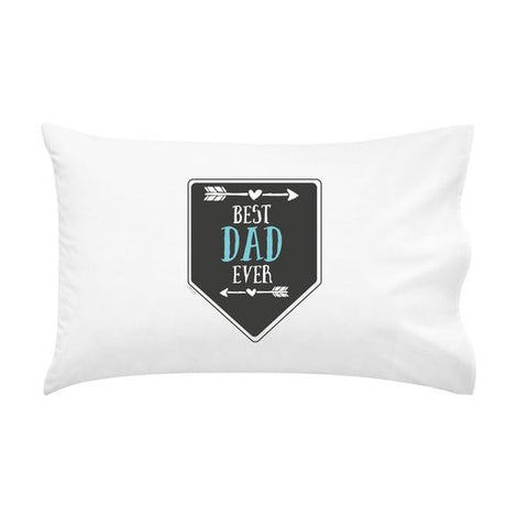 Best Dad Ever Father's Day Personalised Pillowcase - Lil Sunshine Collections