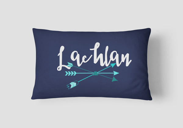 Boys' Arrows Personalised Cushion - Lil Sunshine Collections
