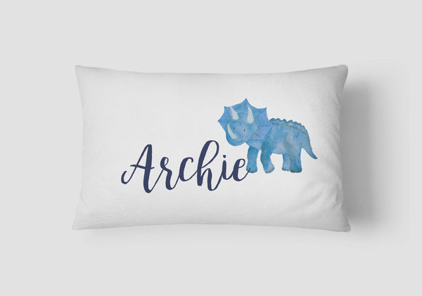 Boys' Dinosaur Personalised Cushion - Lil Sunshine Collections
