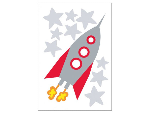 Rocket Wall Decal - Lil Sunshine Collections