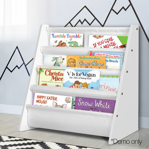 Kids Bookshelf Magazine Storage Unit - Lil Sunshine Collections