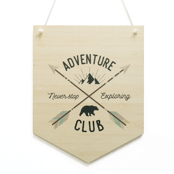 Adventure Club Printed Banner - Lil Sunshine Collections