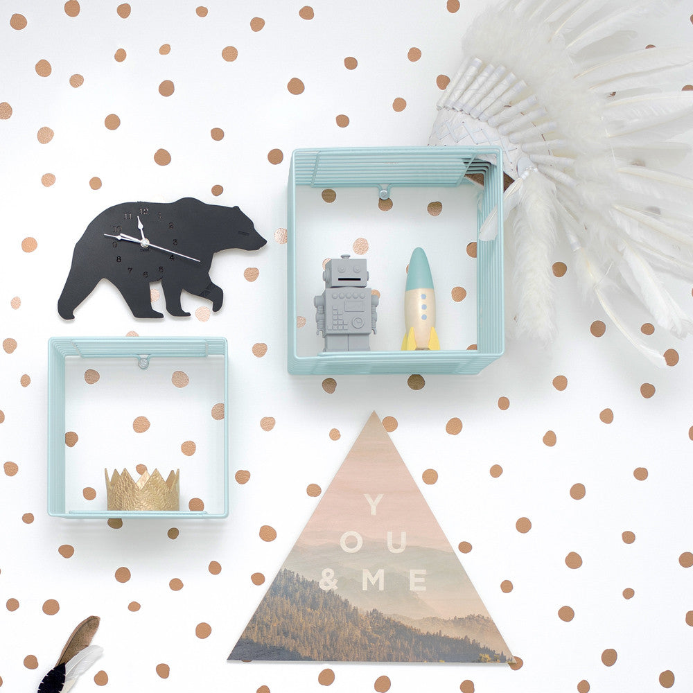 Bear Wall Clock - Lil Sunshine Collections