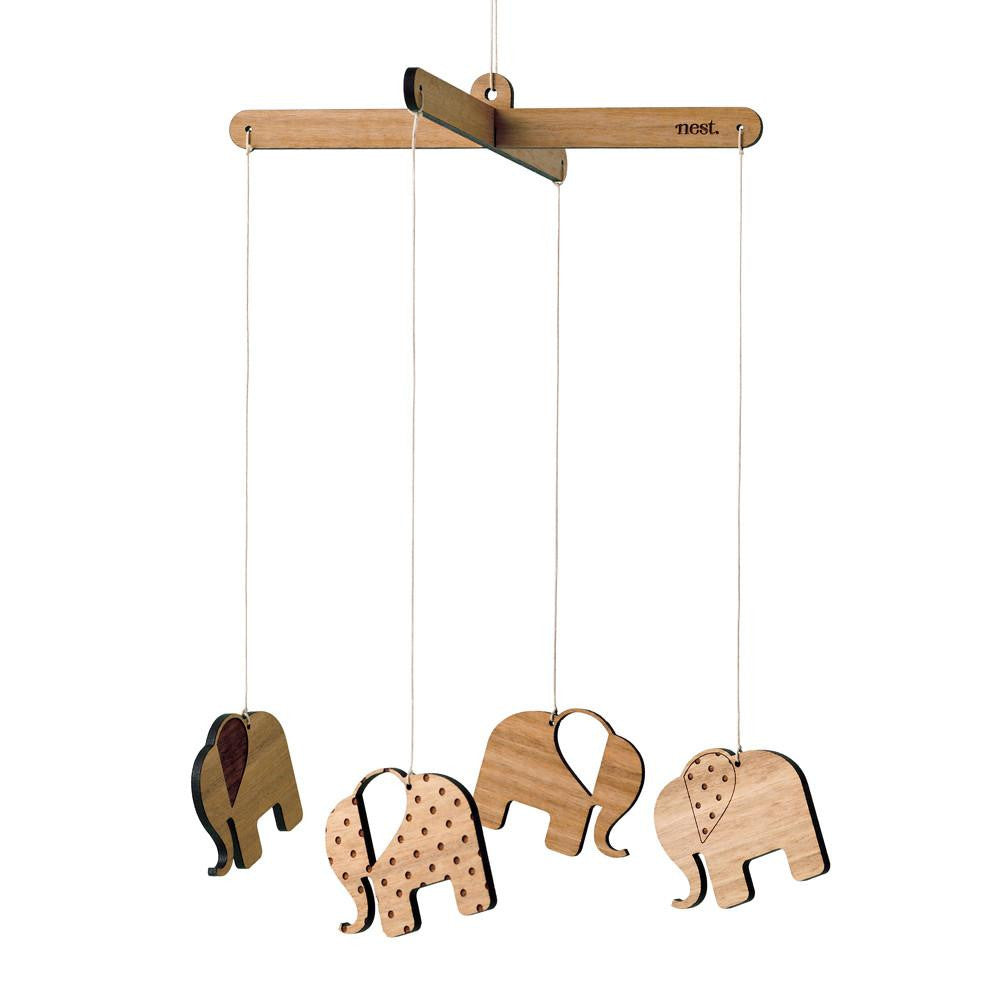 Elephant Nursery Mobile - Lil Sunshine Collections