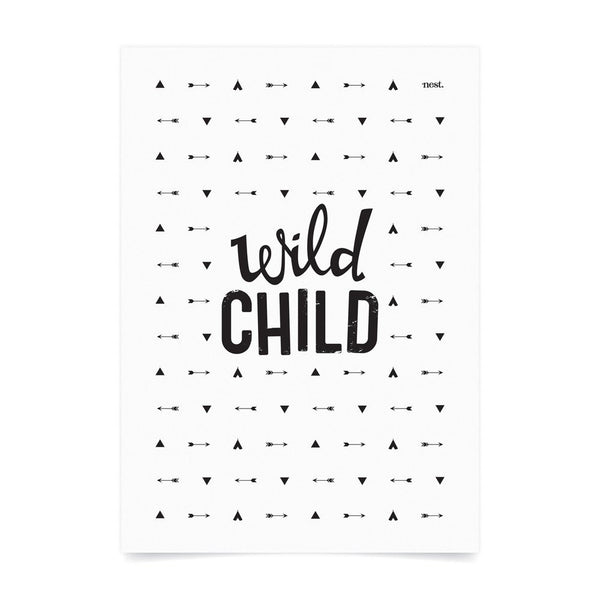 Wild Child Wall Print - Lil Sunshine Collections