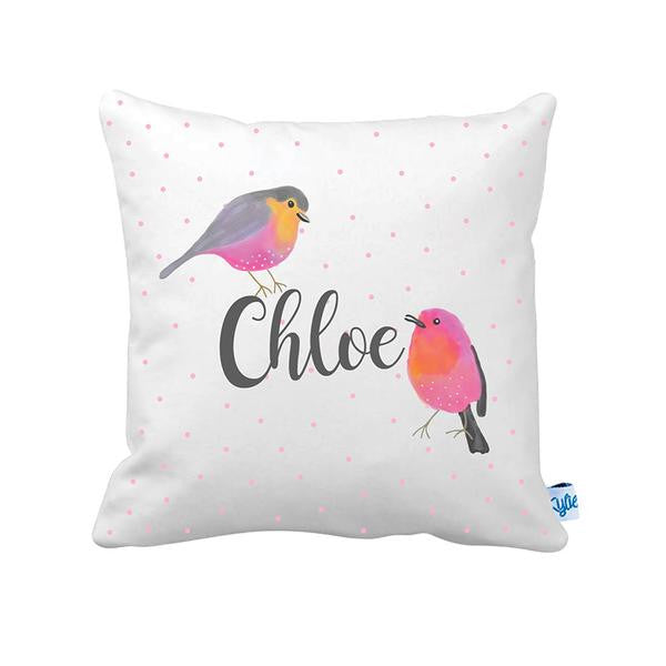 Song Bird Girls Personalised Cushion - Lil Sunshine Collections