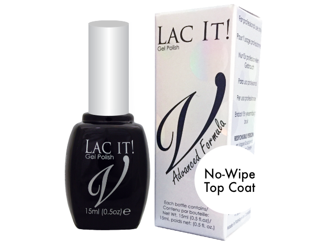 Lac It! No-Wipe Top Gloss