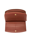 BURANO - Envelop & Zip Around 2-IN-1 Organizer Continental Wallet - Ruggine