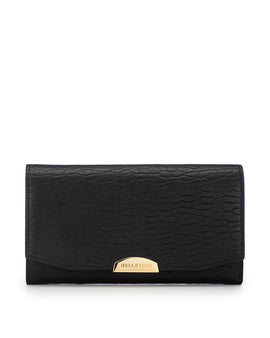 CORTEZA - Envelop Organizer Continental Wallet - Black