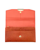 CORTEZA - Envelop Organizer Continental Wallet - Orange