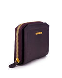 CAPRI - Envelop & Zip Around 2-IN-1 Organizer  Continental Wallet - Purple