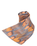 "Long Pure Silk Scarf L76"" x W24"""