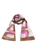 "Long Pure Silk Scarf L66"" x W17"""