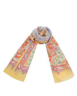 "Long Pure Silk Scarf L69"" x W21"""