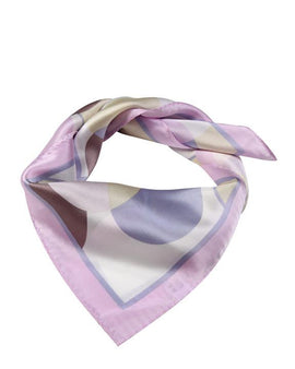 "Square Pure Silk Neck/Head Silk Scarf L21"" x W20"""