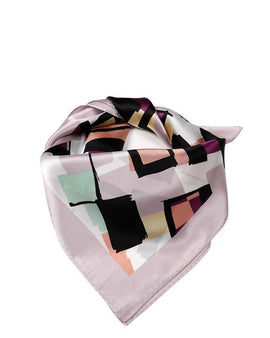 "Square Pure Silk Neck/Head Silk Scarf L21"" x W21"""