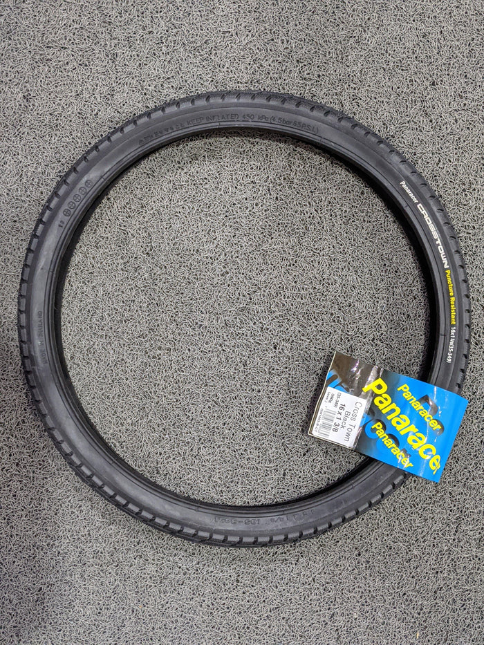 "Panaracer Cross Town Tire (16"" x 1 3/8 / 35-349) for Brompton"