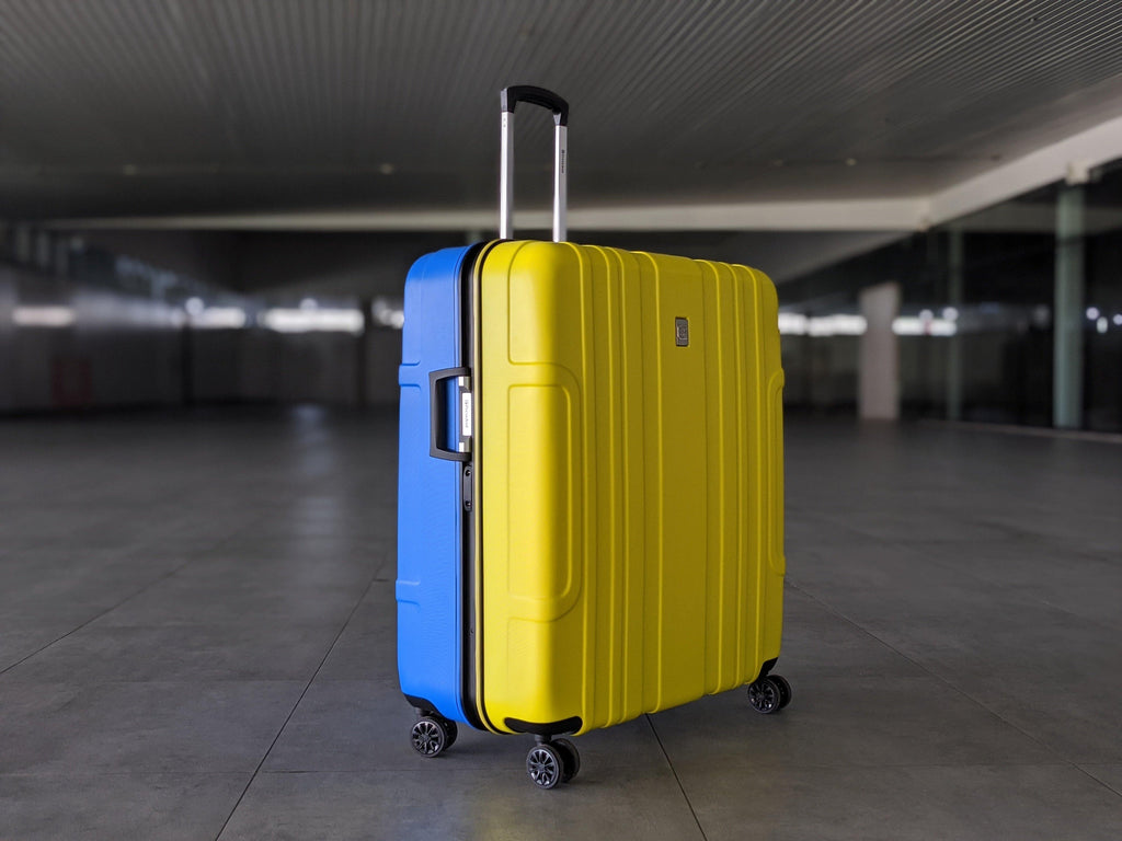 President Brompton Bike Case - Blue/Yellow