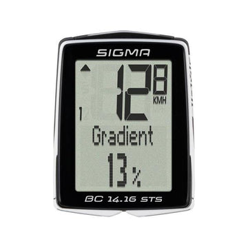 Sigma BC 14.16 STS CAD Wireless Cycling Computer - SpinWarriors