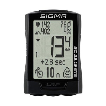 Sigma BC 23.16 STS Wireless Cycling Computer - SpinWarriors