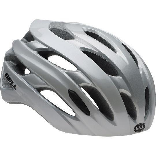 Bell Event Helmet - White/Silver Road Block