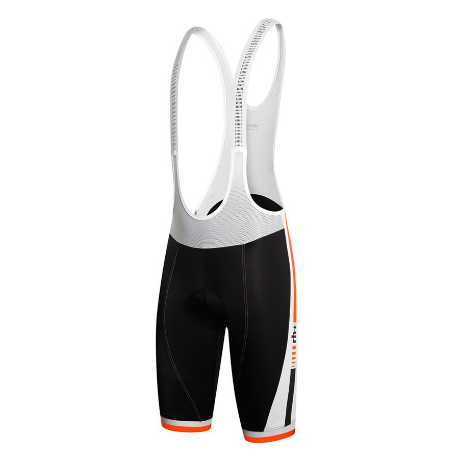 Zero rh+ Agility BibShort - Black/Dark Orange