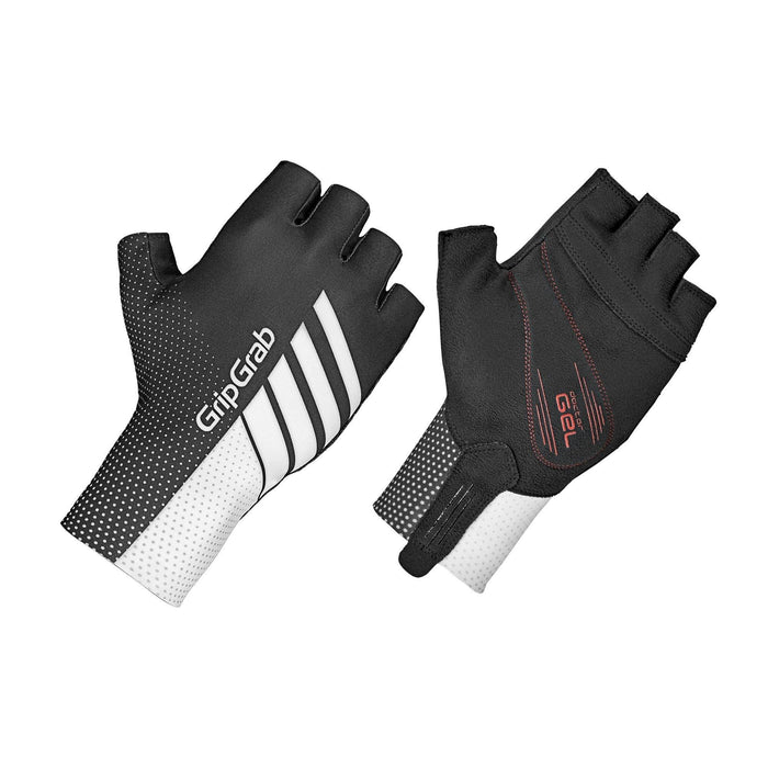 GripGrab Aero TT Raceday Glove - Black/White