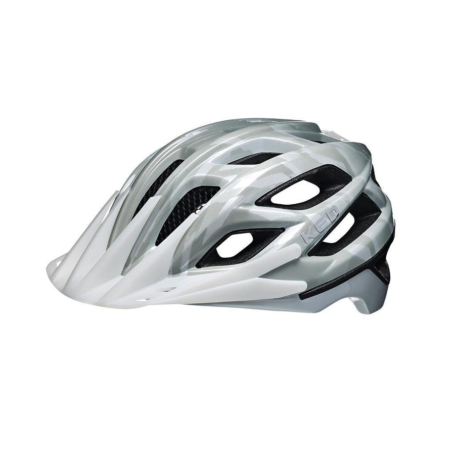 KED Companion Helmet - Grey/White - SpinWarriors