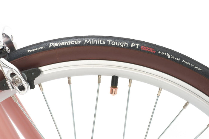 Panaracer Minits Tough (20x1 1/8 / 28-451) - Black/Brown