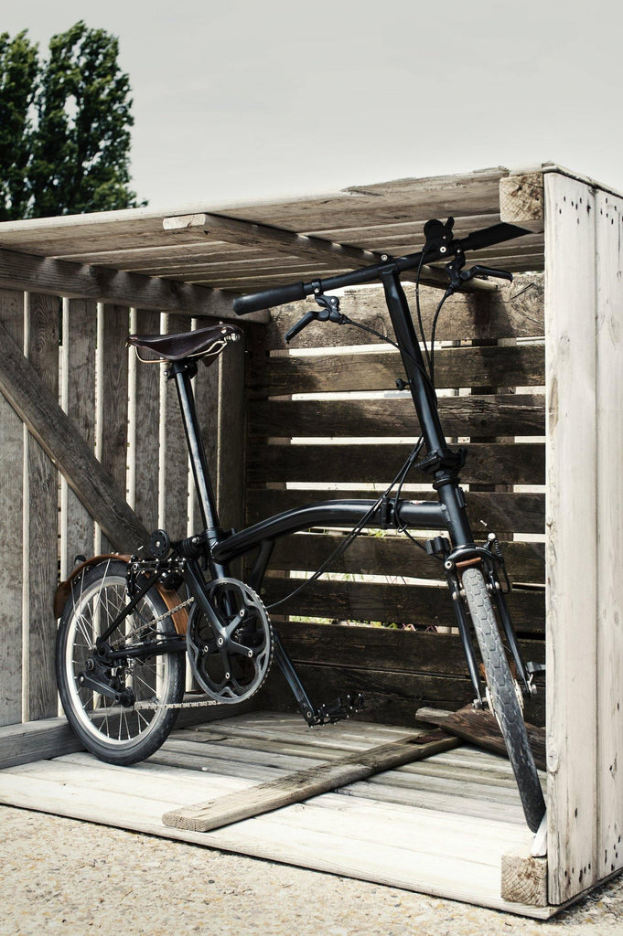 "Odin Brompton 16"" Wooden Fenders - Walnut"