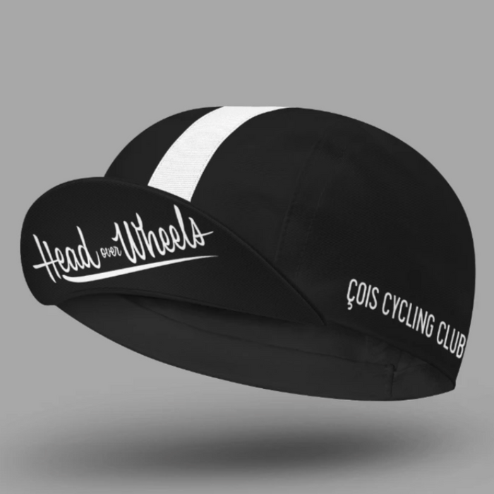 Cois Head Over Wheels Cycling Cap - Black