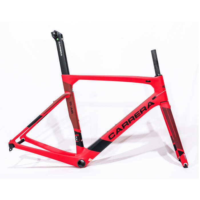 Carrera TD01 Air 2019 Frameset - Matte Red/Black
