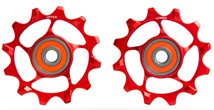 SLF Motion Hyper Pulley Wheels 12T - Red