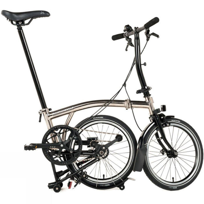 Brompton S2L 2018 - Black Edition/Nickel