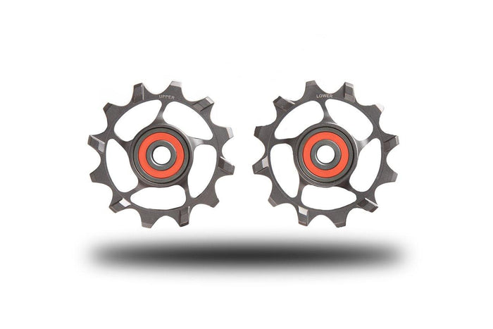 SLF Motion Hyper Pulley Wheels 12T - Grey