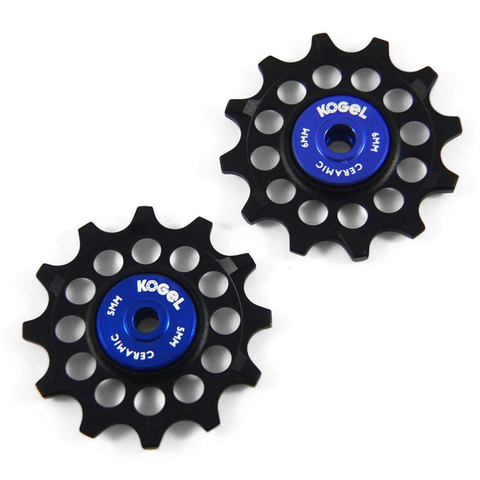 Kogel 12 Tooth Narrow Wide Ceramic Pulleys