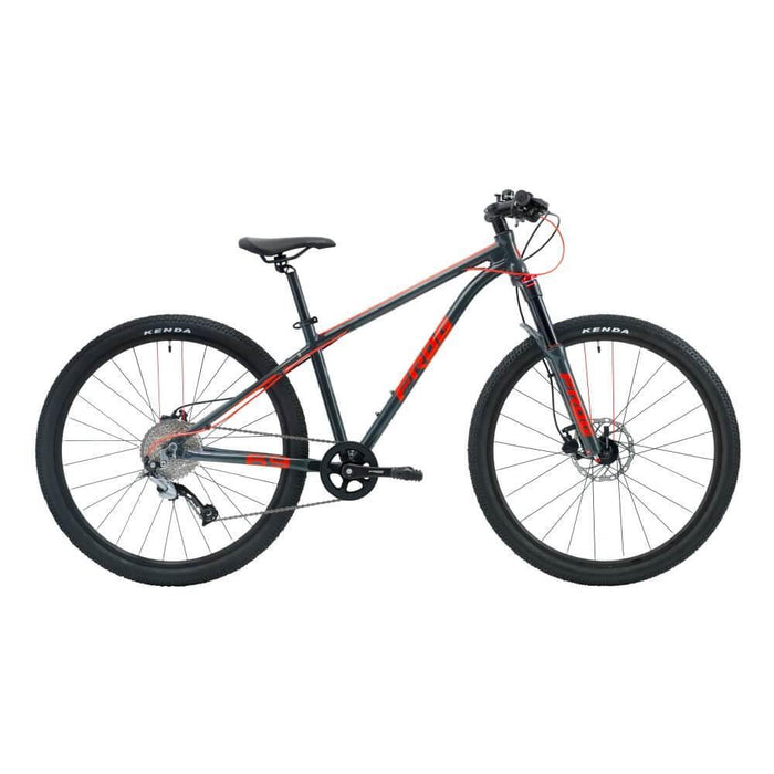 Frog MTB 69 Kids Bike - Metallic Grey/Neon Red
