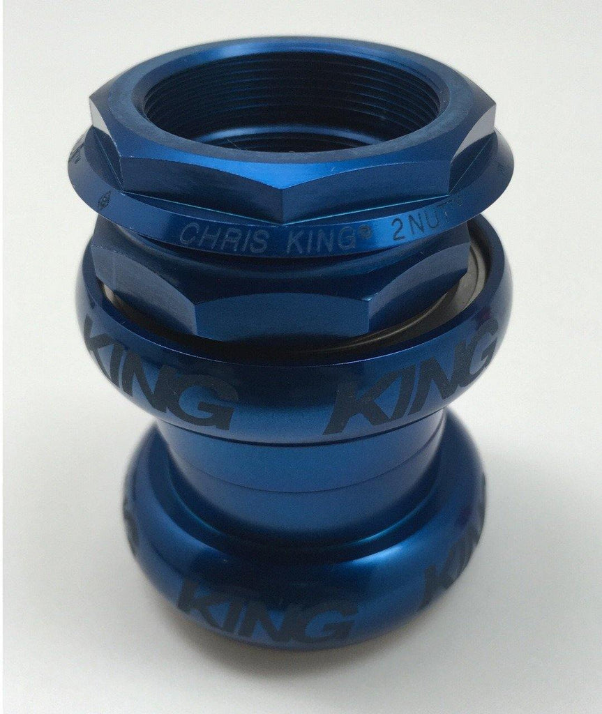 Chris King 2Nut Brompton Headset - Blue