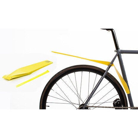 Full Windsor Foldnfix Mudguard - Yellow