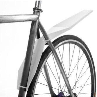 Full Windsor Foldnfix Mudguard - White