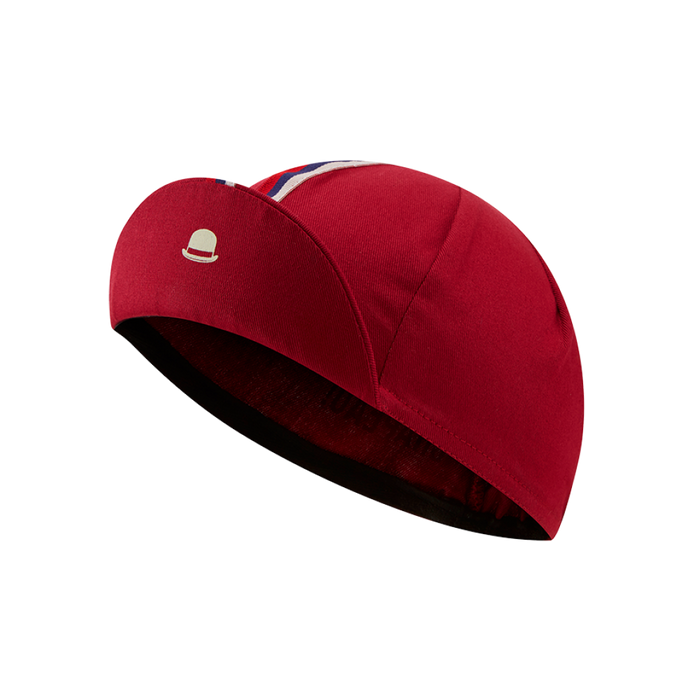 Chapeau! Cotton Cap - Stripe, Devon Red