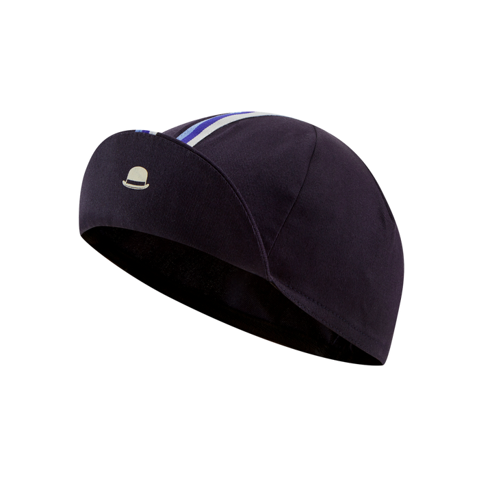 Chapeau! Cotton Cap - Stripe, Deep Ocean