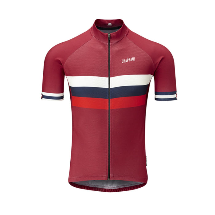 Chapeau! Club Stripe Jersey - Devon Red