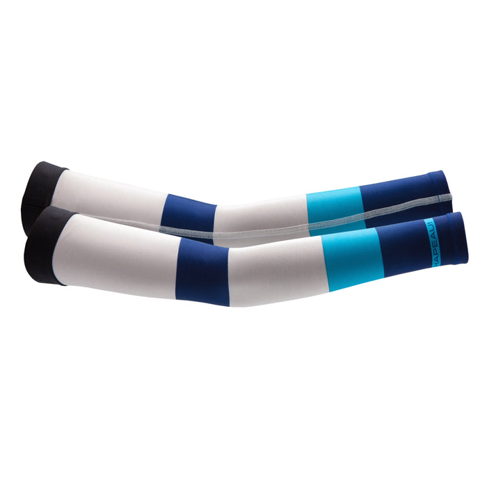 Chapeau! Arm Warmer - Colour Block, Pearl White