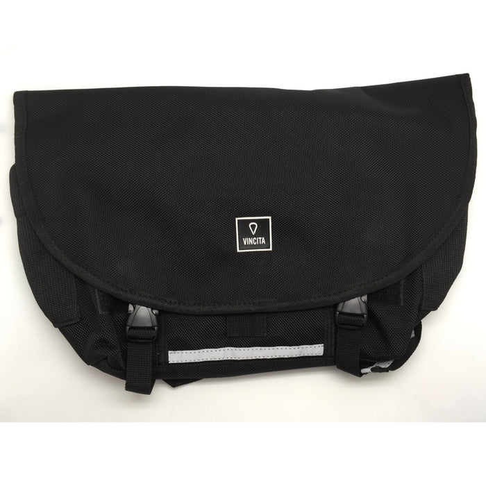 Vincita B205 Small Messenger Bag - Black