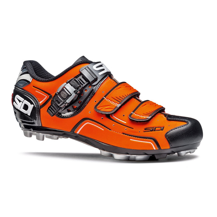 Sidi Buvel MTB Shoes - Orange Fluo/Black