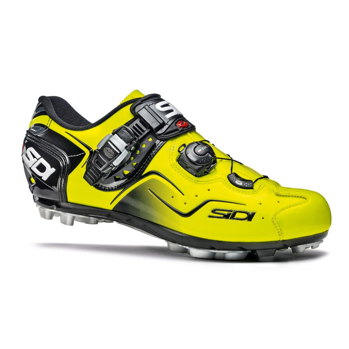 Sidi MTB Cape Shoes - Yellow Fluo