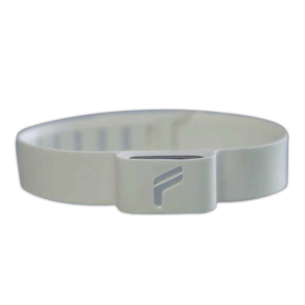 Flyfit: World's First Ankle Tracker For Fitness, Cycling & Swimming - White