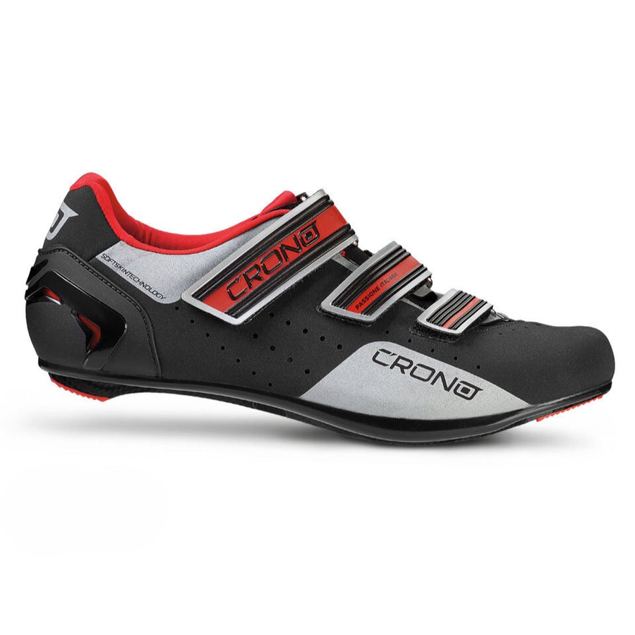 Crono CR4 Road Shoes - Black - SpinWarriors