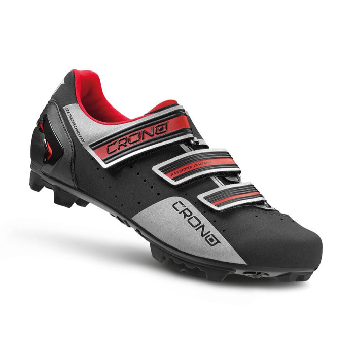 Crono CX4 MTB Shoes - Black/Red